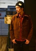 RADIALL(ラディアル)のFREE WHEELIN 新作ジャケットをコーディネイト