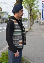 COOTIE /クーティ Baja ParkaとChambray Loose Fit Work Trousersの着こなしブログ