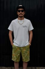 COOTIE 新作Tシャツとカモ柄ショーツでサマースタイル