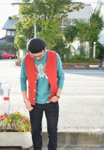 Baja Vest & 5 Pocket Skinny Denim / COOTIE