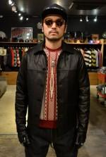 HIDEANDSEEK  HS Leather Car Coat & Melton Car Coat カーコートジャケットの着こなしブログ