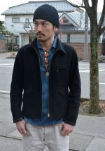 COOTIE / クーティ FILLMORE HENLEY NECK TEEとLace Up Shirtの絶妙なサイズバランス