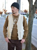 COOTIE クーティ Trapper SweaterとT/C Loose Fit Work TrouserのBlog