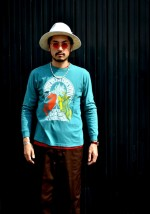 COOTIE 新作Vintage Print L/S Tee (ROLL THE DICE)