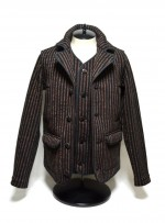 CALEE STRIPE BEACH CLOTH SINGLE PEA COAT ビーチジャケットのブログ