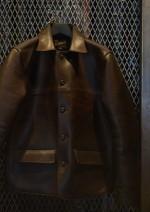 RADIALL HORSE POWER レザーカーコートにオイルを入れてみました!