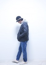 "RADIALL × COMFY DOWNLONとのジョイントワーク ""KUNG-FU DOWN JACKET """