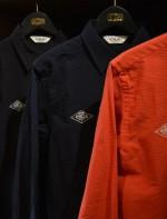 CALEE新作のシアサッカーシャツはヘンリーネックTeeと合わせろ!