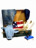 COOTIE / クーティ 5 Pocket Denim (Used Wash) と Vintage Crewneck S/S Sweatshirtの着こなしブログ