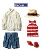 """Radiall / ラディアル ビンテージライクなシャンブレー生地を使ったウエスタンシャツ""""TENNESSEE STUD""""の着こなしブログ"""