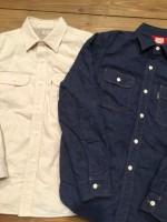 抜群の保温性を発揮するQuilting Denim L/S Work Shirt のコーディネート/COOTIE