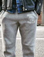 ライダースジャケットとスウェットパンツの組み合わせ/COOTIE(クーティ)