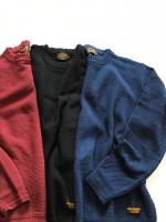 CALEE2017SS新作のニットセーターが入荷してきました。