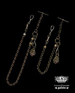 "BLACK SING&galcia ""POCKET WATCH CHAIN"""