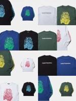 """ユニークな色使いが特徴のCOOTIE新作Tシャツ""""Print L/S Tee (GIVE 'EM HELL)"""""""