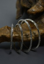 LARRY SMITH / ラリースミス EXTRA THIN TRIANGLE BANGLE & RING (Men's&Lady's)