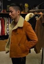 COOTIE Suede Cattleman Jacket スエードランチジャケットを7回着た後の雰囲気