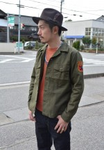 COOTIE / クーティ Wanderers Jungle JacketとVintage Crewneck S/S Sweatshirtの着こなしブログ